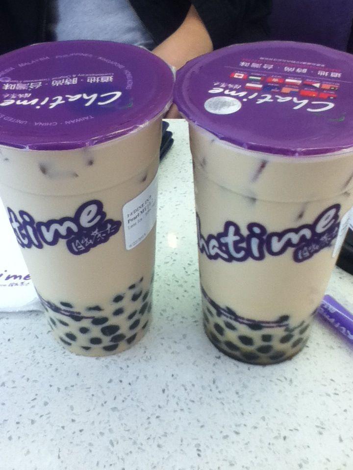 Chatime | Tea time | Bubble milk tea, Milk tea, Sleepover food
