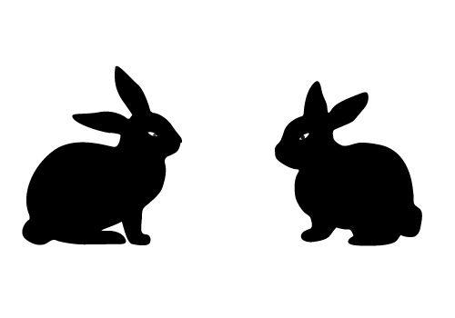 Silhouette Vector Blog Free Silhouette Illustration Rabbit Silhouette Bunny Silhouette Silhouette Illustration