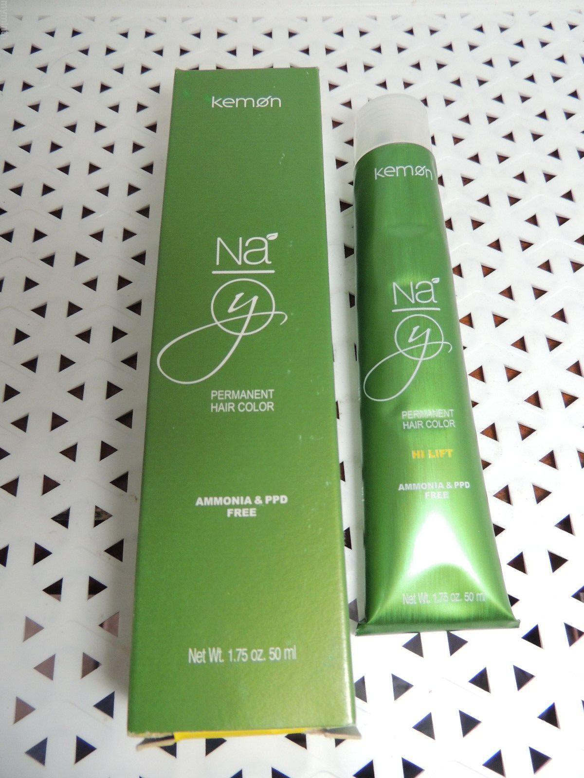 Kemon Na Yo Permanent Haircolor 1.75 Oz 7-10 Your Choice (Gr Bx ...