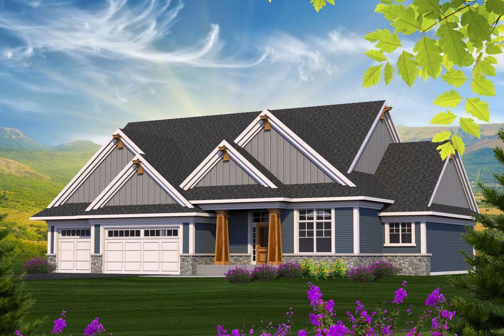 Craftsman Style House Plan - 3 Beds 2.00 Baths 2154 Sq/Ft Plan #70 ...