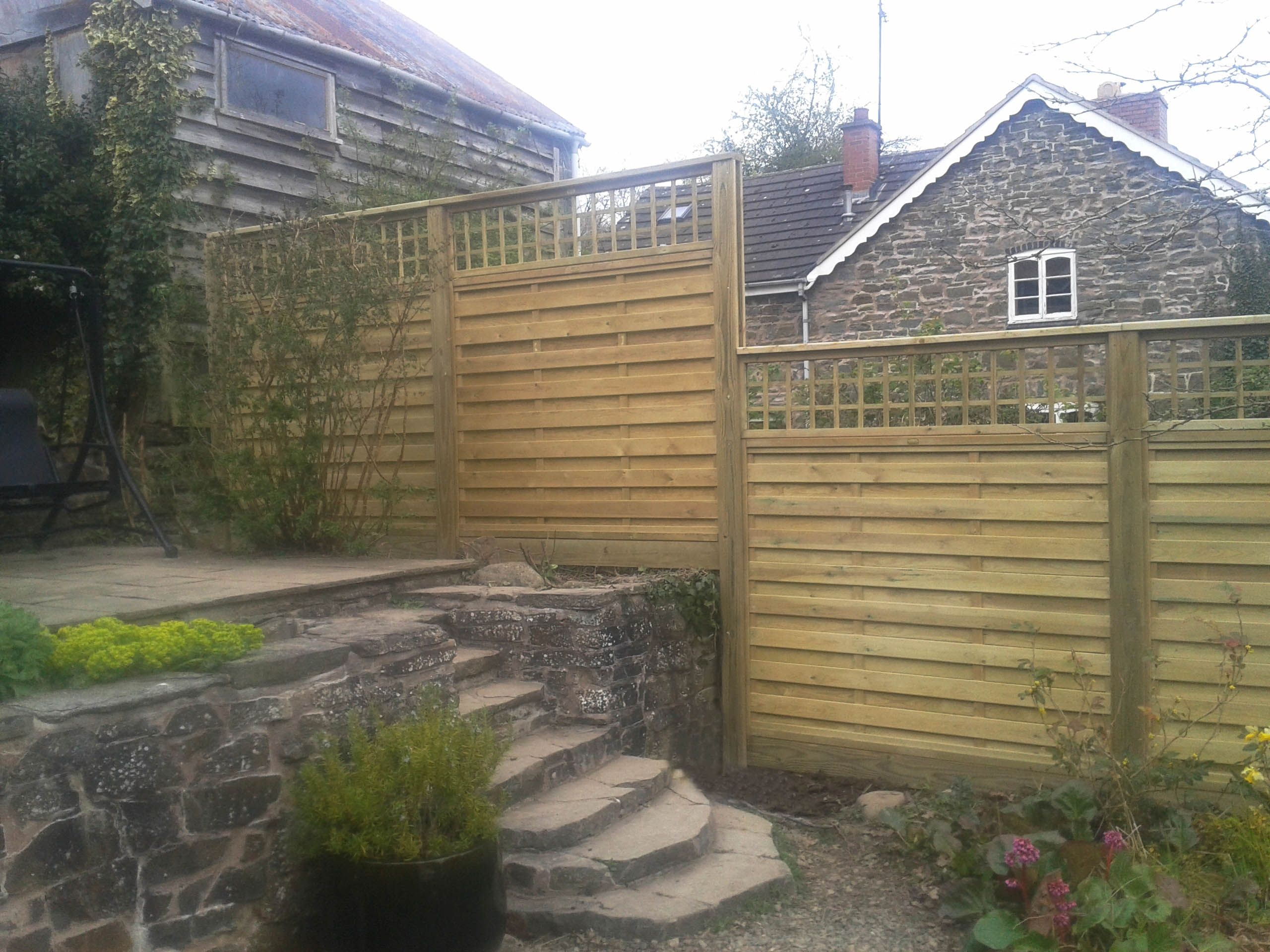 Pete S New Panels Are A Definite Hit Trellis Panels New Panel Jacksons Fencing
