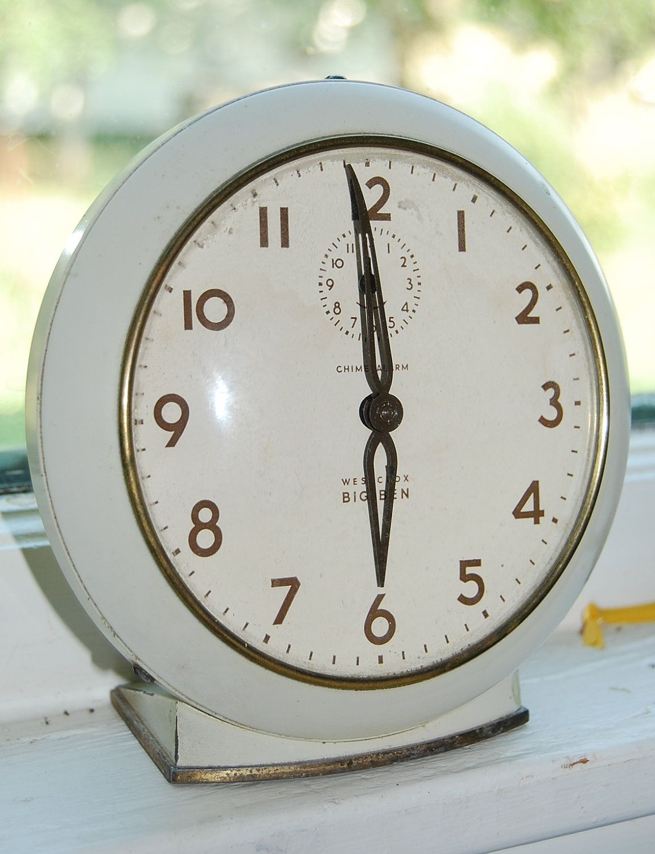 Westclox Big Ben Alarm Clock Vintage Tick Tock Clock Alarm