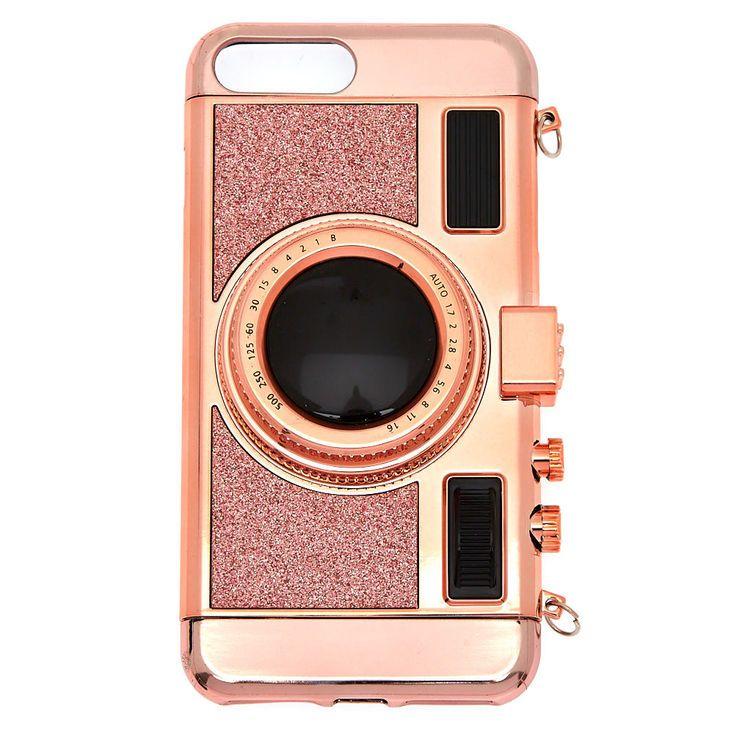 quality design c29fd 84df6 Claire's Retro Camera Phone Case - Fits iPhone 6/7/8 Plus | Products ...