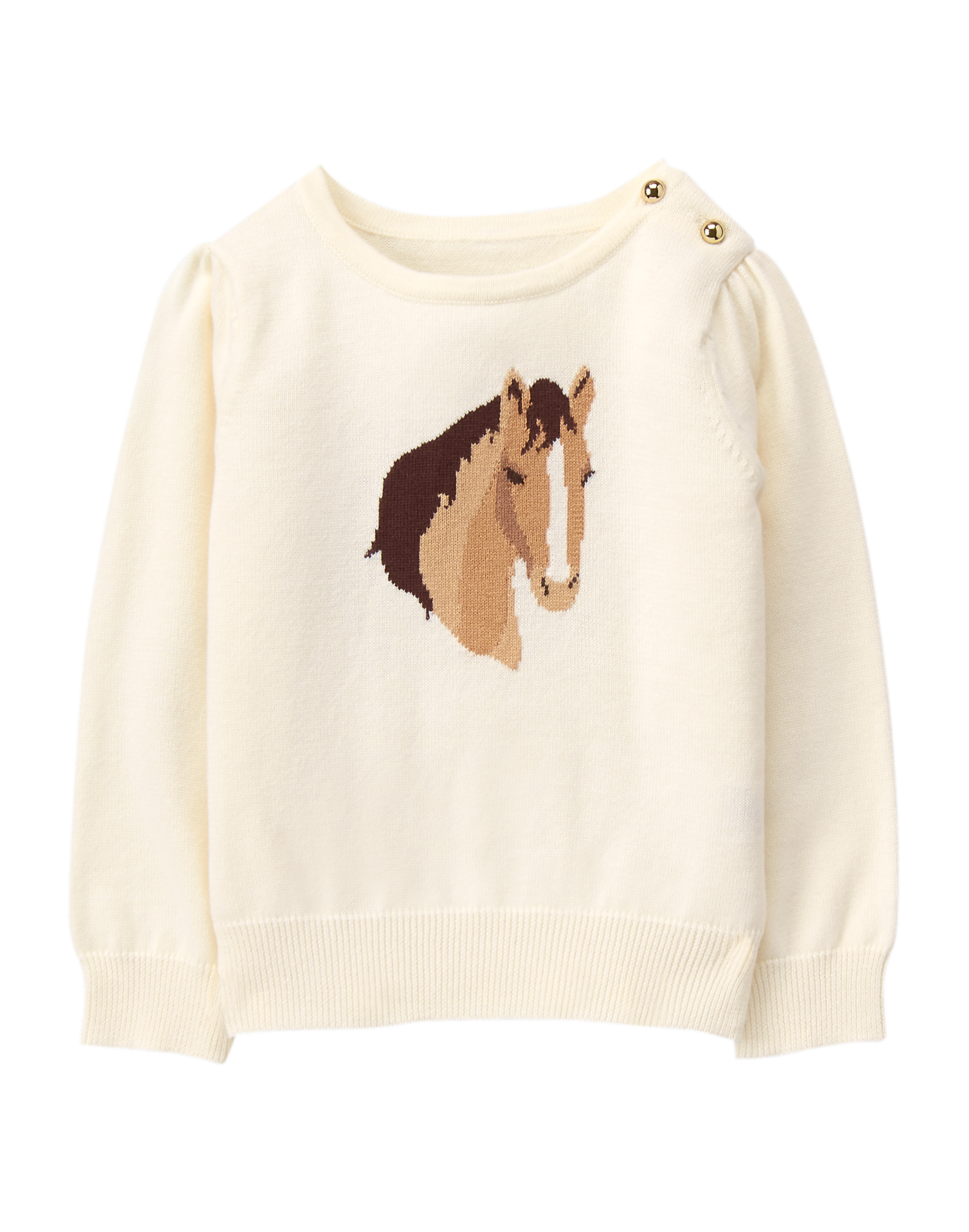 7f791b4f9e91a0 horse sweater at Janie and Jack's 18-24 mos. | ارنوب | Girls ...