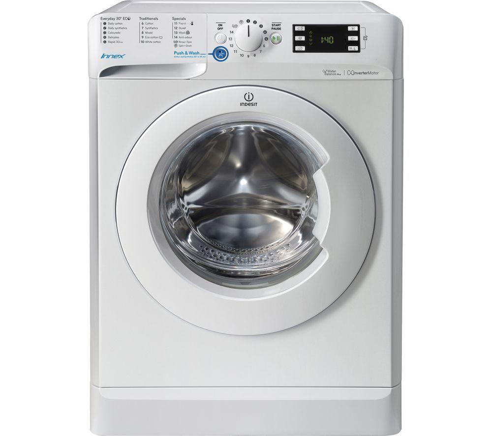 Indesit Innex Bwe 91683x W 9 Kg 1600 Spin Washing Machine White Washing Machine Washer Dryer Combo White Washing Machines
