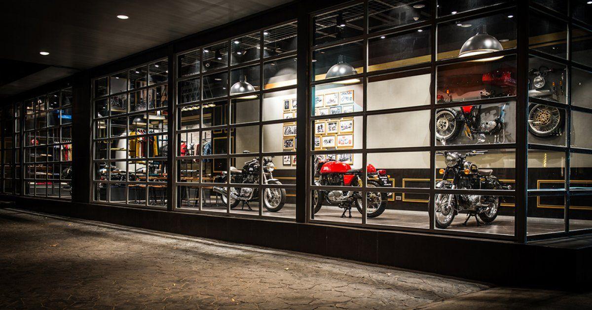 Royal Enfield Royal enfield, Motorcycle showroom