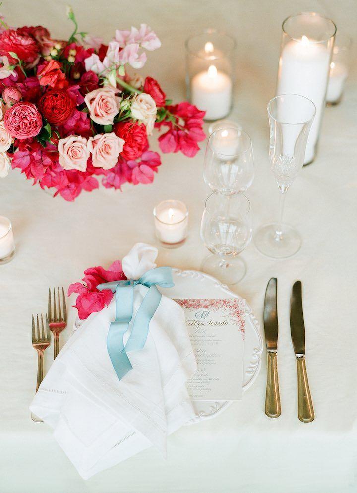 Featured Photographer: Lacie Hansen; Wedding centerpiece idea, click to see more wedding details