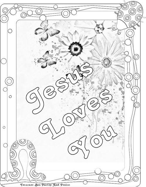 Childrens Gems In My Treasure Box: Jesus Loves You