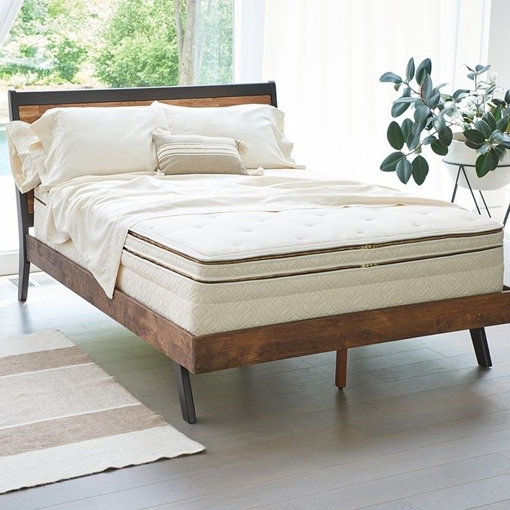 Halcyon Luxury Organic Mattress Series 2 Sided Pillow Top