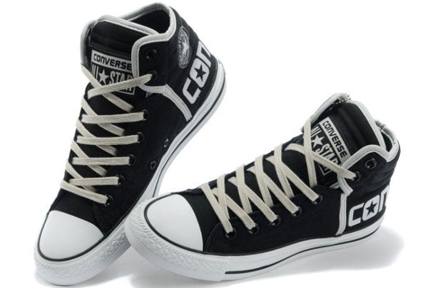 Newest Converse Chuck Taylor All Star Vampire Diaries 5 Winter Boots High  Tops Black Grey Canvas