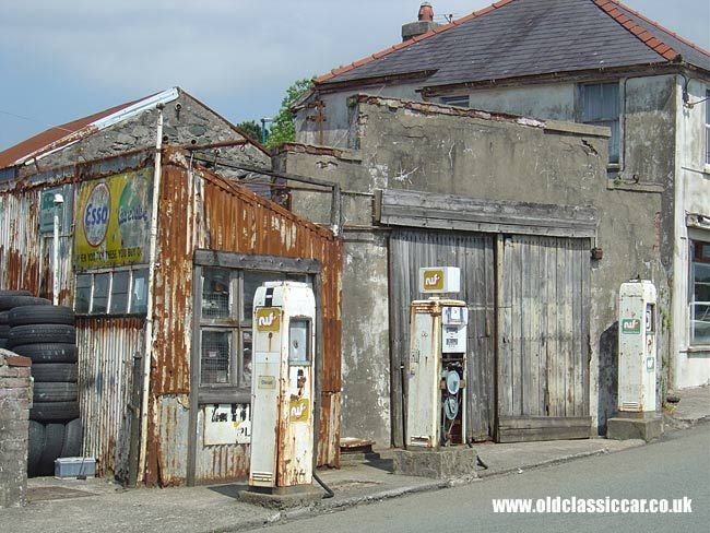 old garage in wales old gas stations pinterest wales