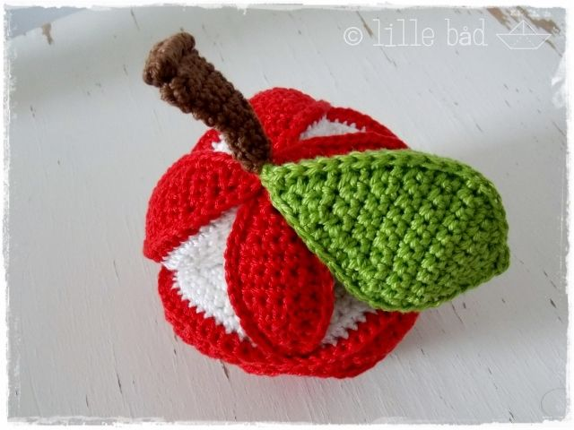 Greifball Amish Puzzle Ball Red Apple Pinterest Babysachen