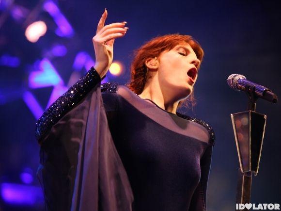 Fierce: Florence Welch.