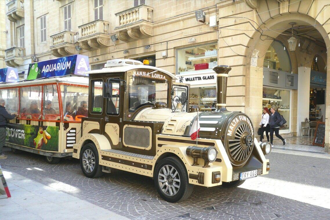 マルタ ヴァレッタの観光バス