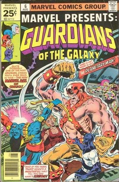 #MARVEL COMICS GROUP [] marvel presents [] GUARDIANS OF THE GALAXY []