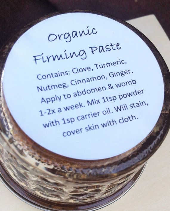This Organic Firming Paste Powder Is Used On The Abdomen