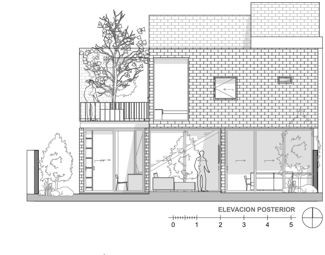 Galer a de casa robles atier arquitectura 25 casa for Disenos de casas rusticas de ladrillo