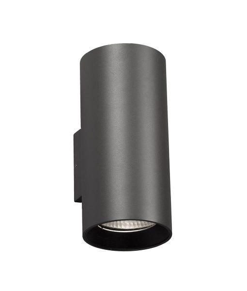 Aplique Gris 2 Luces Thon 2 Led La Casa De La Lampara En 2020 Apliques De Pared Led Iluminacion Exterior