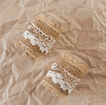 Rusztikus szalvétagyűrű   Különleges esküvői dekorációk és ötletek webáruháza