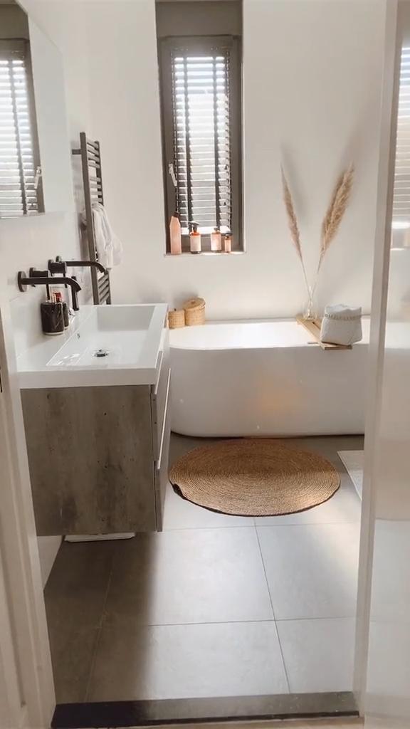 Boho bathroom decor for inspo