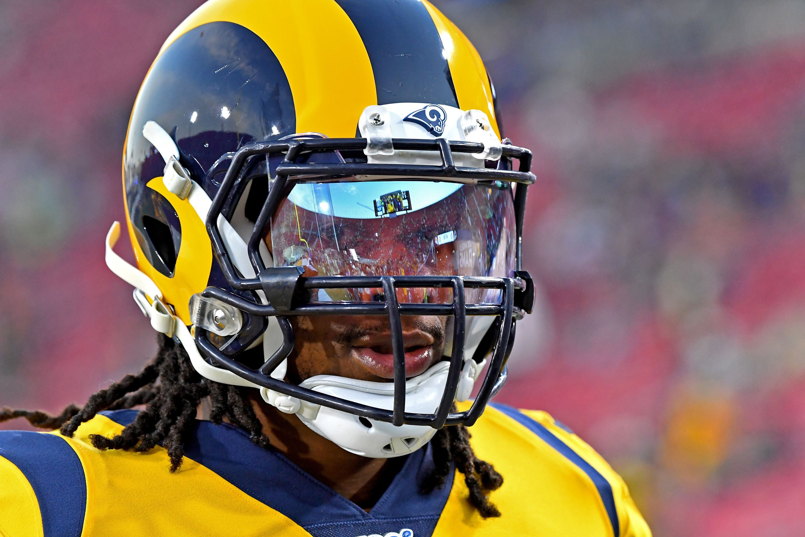 Todd Gurley Recording First 100 Yard Rushing Game Of 2019 In Week 13 Would Be Perfect National Football L National Football League Nfl News National Football