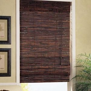 Classic Cordless Woven Woods Blinds For Windows Vertical Window