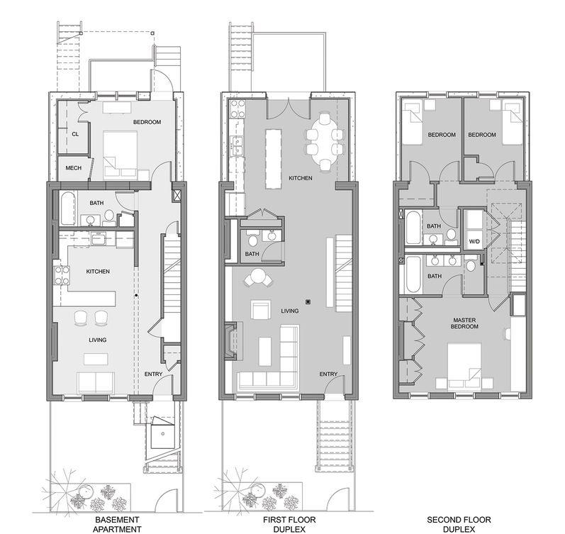 Three Storey Narrow Lot House Plans Google Search Basement House Plans Narrow Lot House Plans Bat House Plans