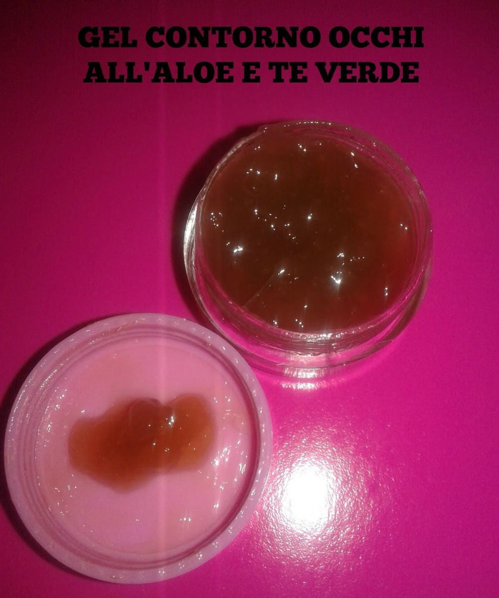 Gel Contorno Occhi 👀 all'Aloe e Te Verde