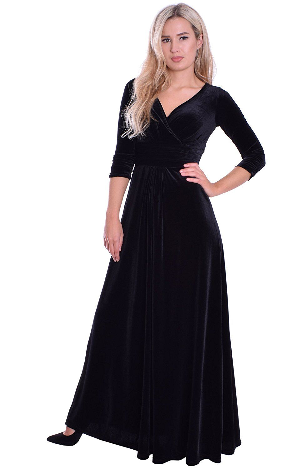 Monty q womenus empire dress black nyc pinterest