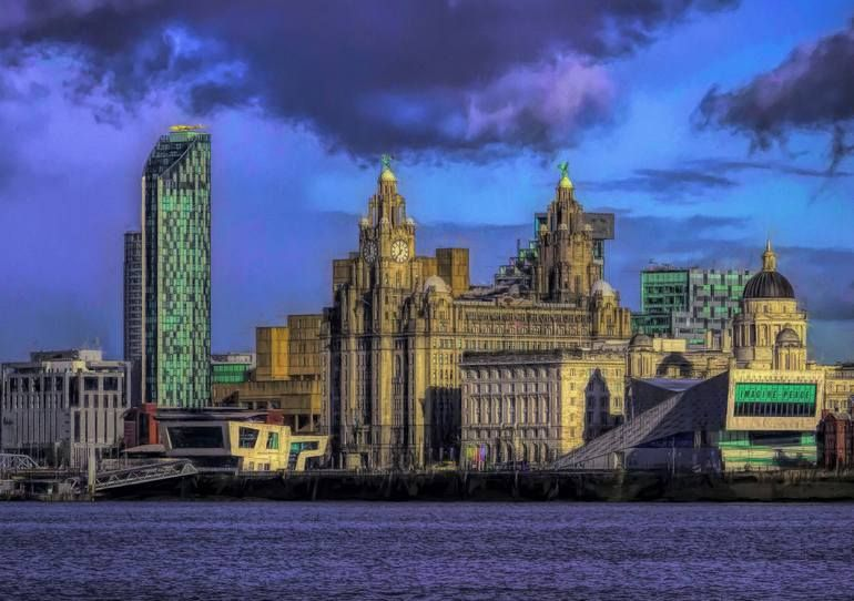 Original Cities Photography By Martin Fry Fine Art Art On Paper Liverpool City Limited Edition Of 25 In 2020 Liverpool City City Photography City