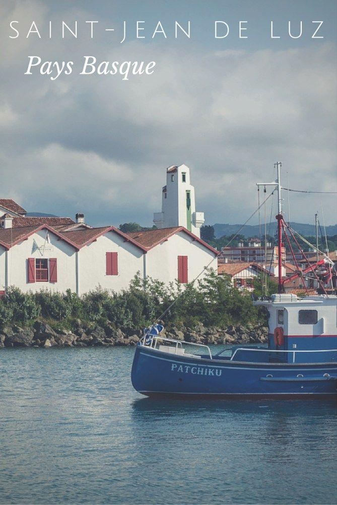 Pays Basque Francais Saint Jean De Luz Pays Basque Paysage Basque Et Saint Jean