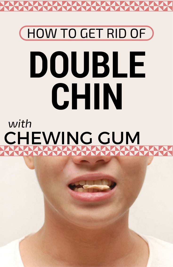 How to remove the cheeks and extra chin
