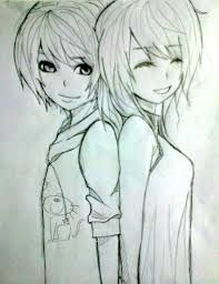 Image Result For Images Of Boy And Girl Best Friends In Drawings