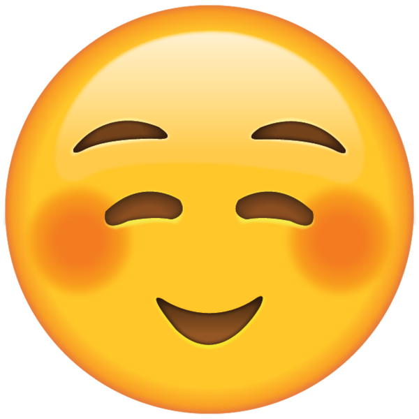 Shyly Smiling Face Emoji Emoji Pictures Emoji Faces Emoji Love