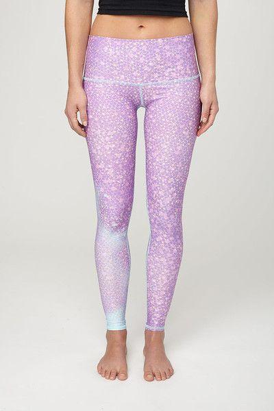 c43106b9ab84b Shop All - Athletic and Yoga Fashion. Teeki - Mermaid Fairyqueen Lavender  Hot Pant Legging - - Juja Active - 1