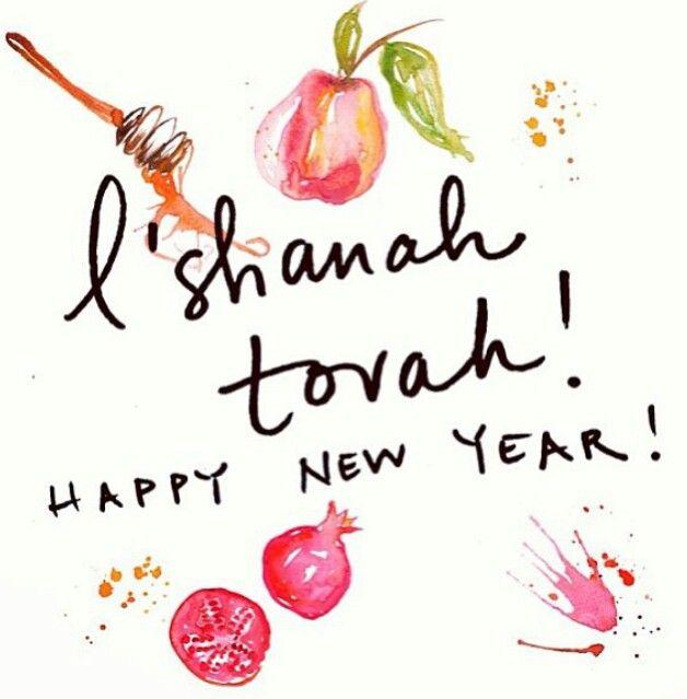 L'Shana Tovah / Happy New Year!