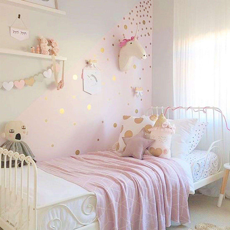Habitacion Infantil Con Topos Oro Https Dolcevinilo Es Vinilo  ~ Ideas Decorar Habitacion Infantil