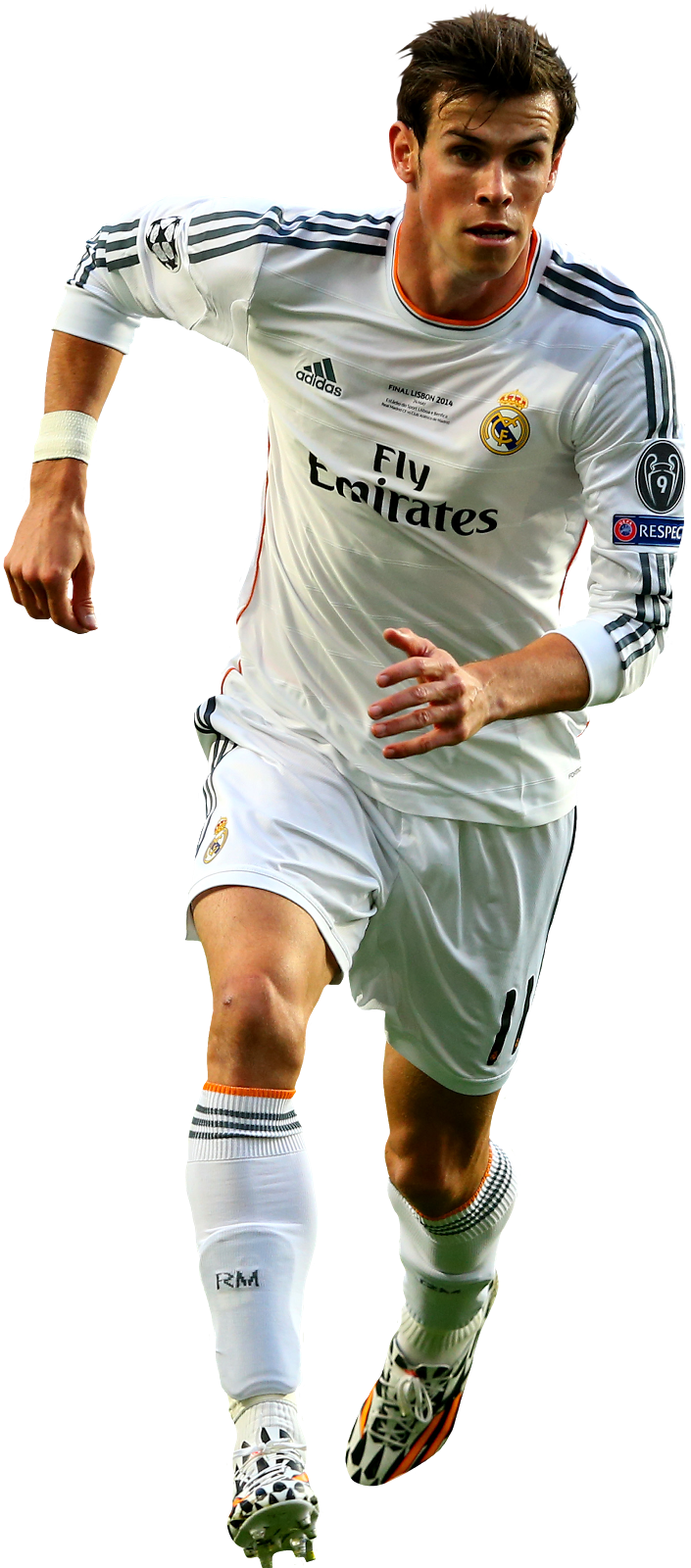 Gareth Bale of Real Madrid in the 2014 Champions League ...