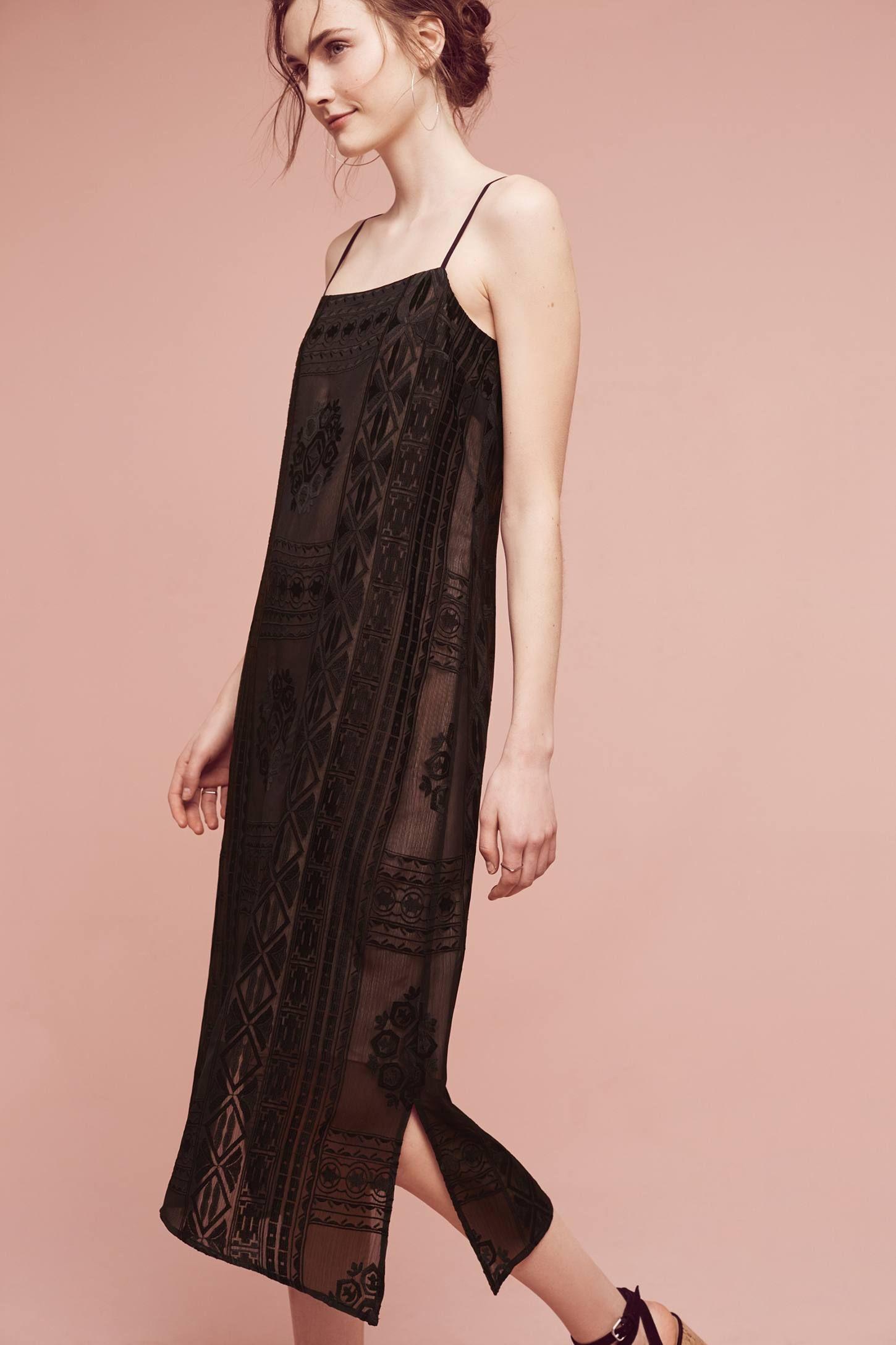 Embroidered Luna Slip Dress | Boda y Vestiditos