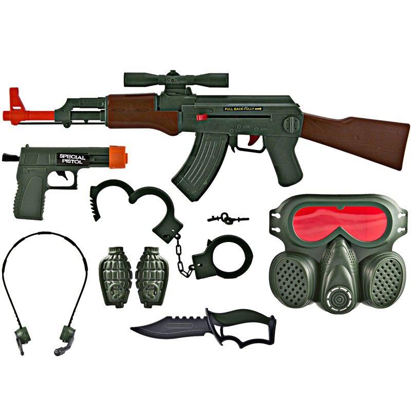 Kids Army Com Ak47 Commando Combat Mission Set 12 99 Http