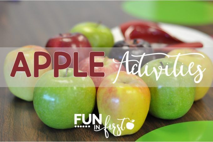 Apple Activities from Fun in First