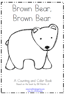 Superb image for brown bear brown bear printable books
