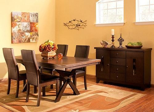 This Gibson 5 Piece Dining Set Is Sleek, Contemporary Furniture With A  Little Something