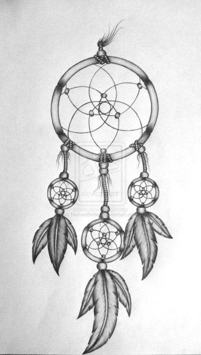Dreamcatcher Tattoo Design By Nathanbrittain D7e9m0j Jpg 673 1188 Dream Catcher Drawing Dream Catcher Tattoo Design Dream Catcher Tattoo