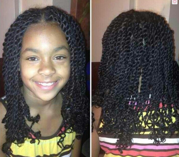 Braided Extensions Hairstyles For Kids New Hairstyles Ideas Kids Hairstyles Hair Styles Twist Hairstyles
