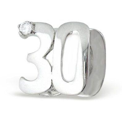 pandora charm 30 birthday