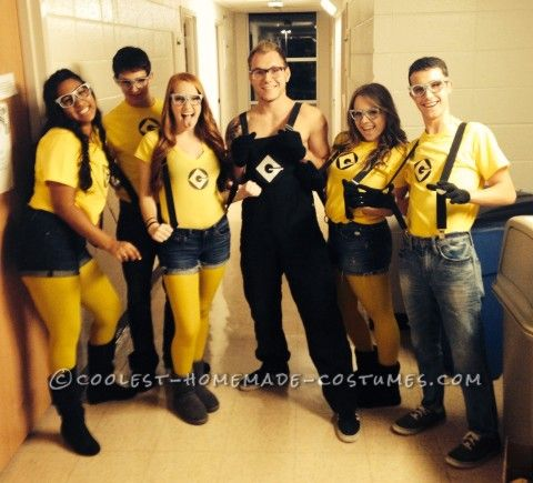 DIY Minions Costume for College Students... Coolest Halloween Costume Contest & DIY Minions Costume for College Students... Coolest Halloween ...