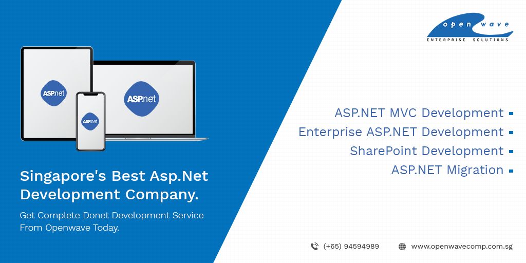 Openwave has a team of Microsoft certified ASP Net