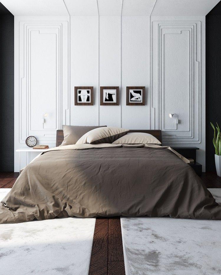 Chambre Claire En Bois Et Blanc Pour Amenager Un Cocon De Douceur