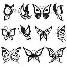 dibujos simples mariposas - Buscar con Google